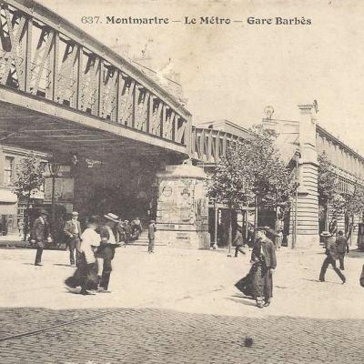 GCA 637 - Montmartre - Le Metro Gare - Barbès