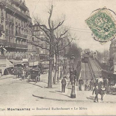 GCA 740 - Montmartre - Bd Rochechouart - Le Métro