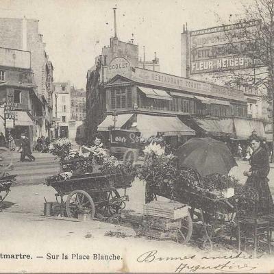 GCA 749 - Montmartre - Sur la Place Blanche