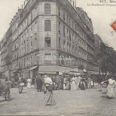 GCA 917 - Le Boulevard Ornano (Coin Joseph Dijon)