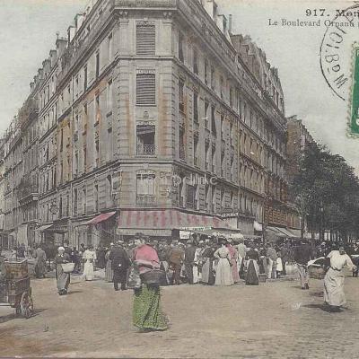 GCA 917 - Le Boulevard Ornano (Coin Joseph-Dijon)