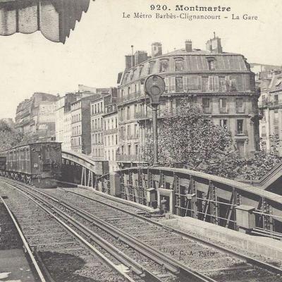 GCA 920 - La Metro Barbès-Clignancourt - La Gare