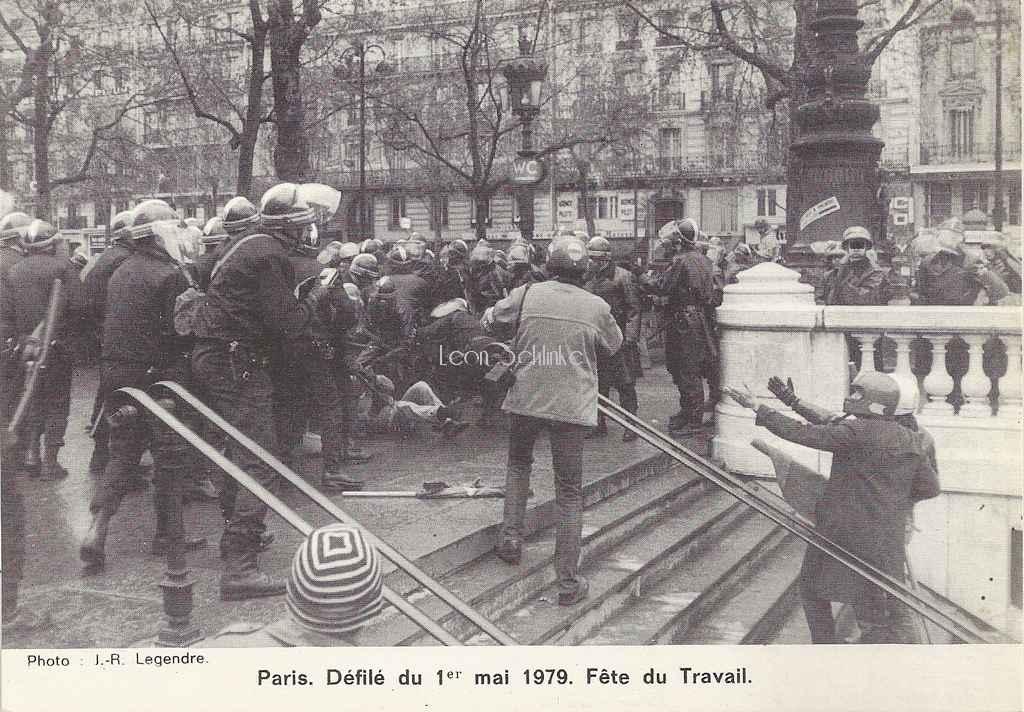 Gendre - Défilé du 1er Mai 1979. Fête du Travail