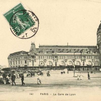 GI 141 - PARIS - La Gare de Lyon