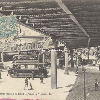 GI 194 - Le Métropolitain au Rond Point de La Villette