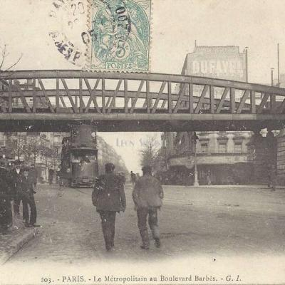 GI 203 - Le Métropolitain au Boulevard Barbès