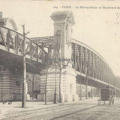 GI 204 - Le Metropolitain au Boulevard de la Chapelle