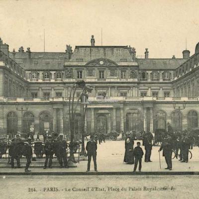 GI 214 - PARIS - Le Conseil d'Etat, Place du Palais Royal