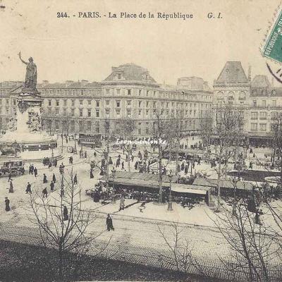 GI 244 - La Place de la République