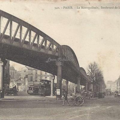 GI 340 - Le Métropolitain, Boulevard de la Chapelle