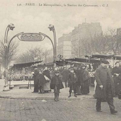 GI 346 - Le Métropolitain, la Station des Couronnes