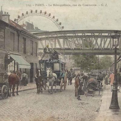 GI 524 - Le Métropolitain, rue du Commerce