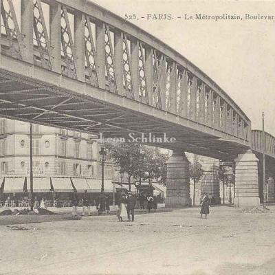 GI 525 - Boulevard de Grenelle à la station de la Motte-Piquet
