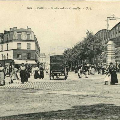 GI 525 - PARIS - Boulevard de Grenelle