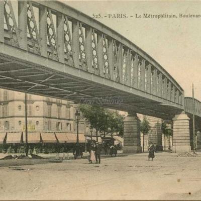 GI 525 - PARIS - Le Métropolitain, Boulevard de Grenelle