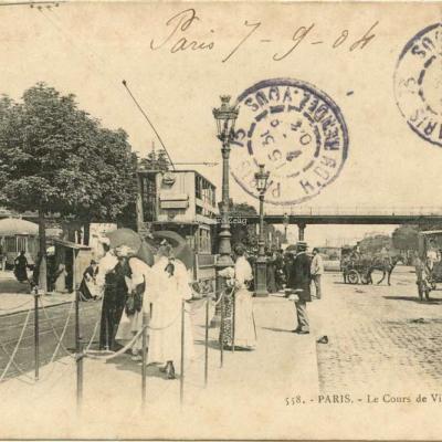 GI 558 - PARIS - Le Cours de Vincennes