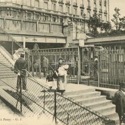 GI 633 - PARIS - La Gare du Métro à Passy