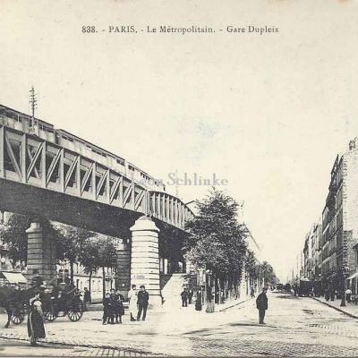 GI 838 - Le Métropolitain - Gare Dupleix