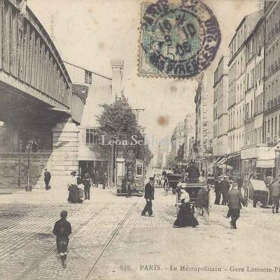 GI 839 - Le Métropolitain - Gare la Motte-Piquet