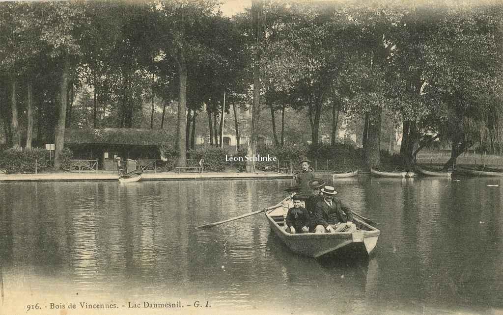 GI 916 - Bois de Vincennes - Lac Daumesnil