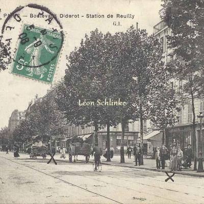 GI - Boulevard Diderot - Station de Reuilly