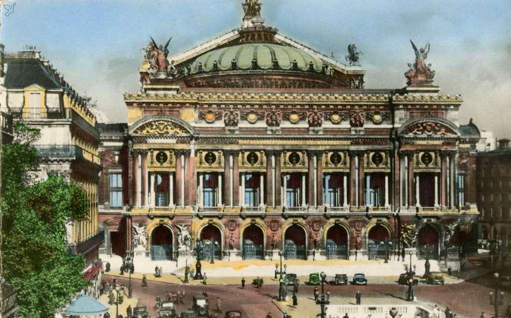 Edition du Globe 25 - PARIS - L'Opéra