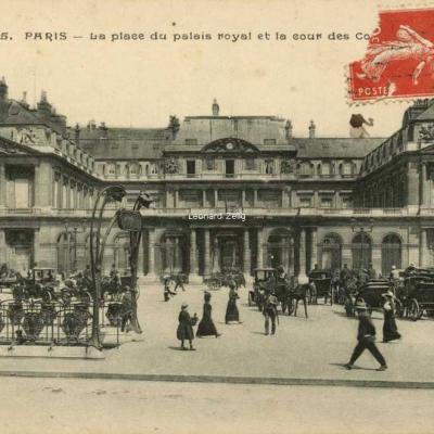 Golland A. 5 - PARIS - La place du palais royal et la cour des comptes