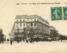 Gondry 1365 - Paris - La Rue et le Boulevard de Picpus