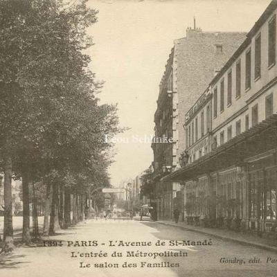 Gondry 1394 - L'Avenue de St-Mandé, Station du Métro
