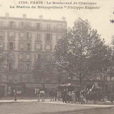 Gondry 1736 - Le Boulevard de Charonne · La Station du Métro
