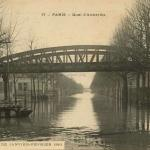 Gondry 77 - PARIS - Quai d'Austerlitz, Inondations de 1910