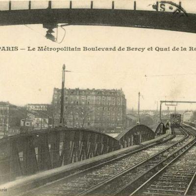 Gondry - Le Métro Boulevard de Bercy ert Quai de la Rapée