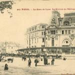 Gondry Photo-Phono 913 - La Gare de Lyon et la Station du Métro