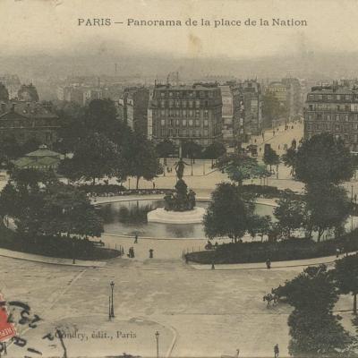 Gondry - Place de Nation (vue 2)