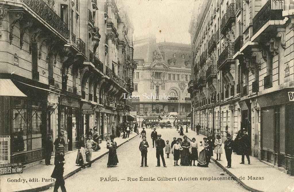 Gondry - Rue Emile-Gilbert (Ancien emplacement de Mazas)