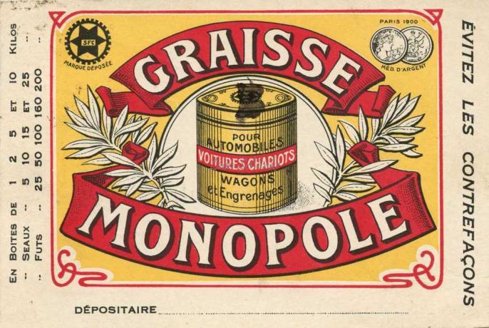 Graisse MONOPOLE