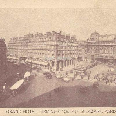 Grand Hôtel TERMINUS, 108, Rue St-Lazare