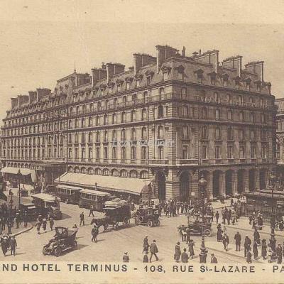 Grand Hôtel TERMINUS - 108, Rue St-Lazare