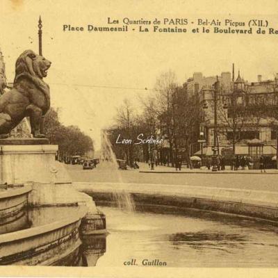 Guillon  - Les Quartiers de Paris - Pl. Daumesnil et Bd de Reuilly