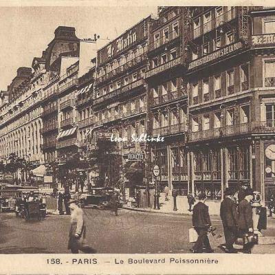 Guy 158 - Le Boulevard Poissonnière
