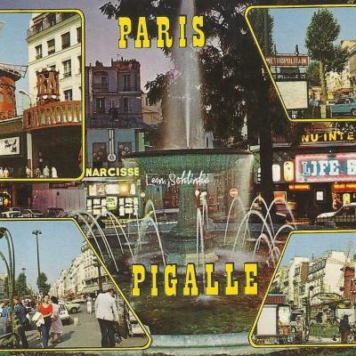 Guy 2124 - La Place Pigalle et le Moulin Rouge place Blanche
