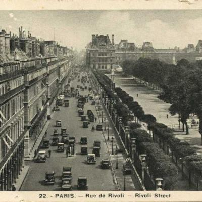 GUY 22 - PARIS - Rue de Rivoli