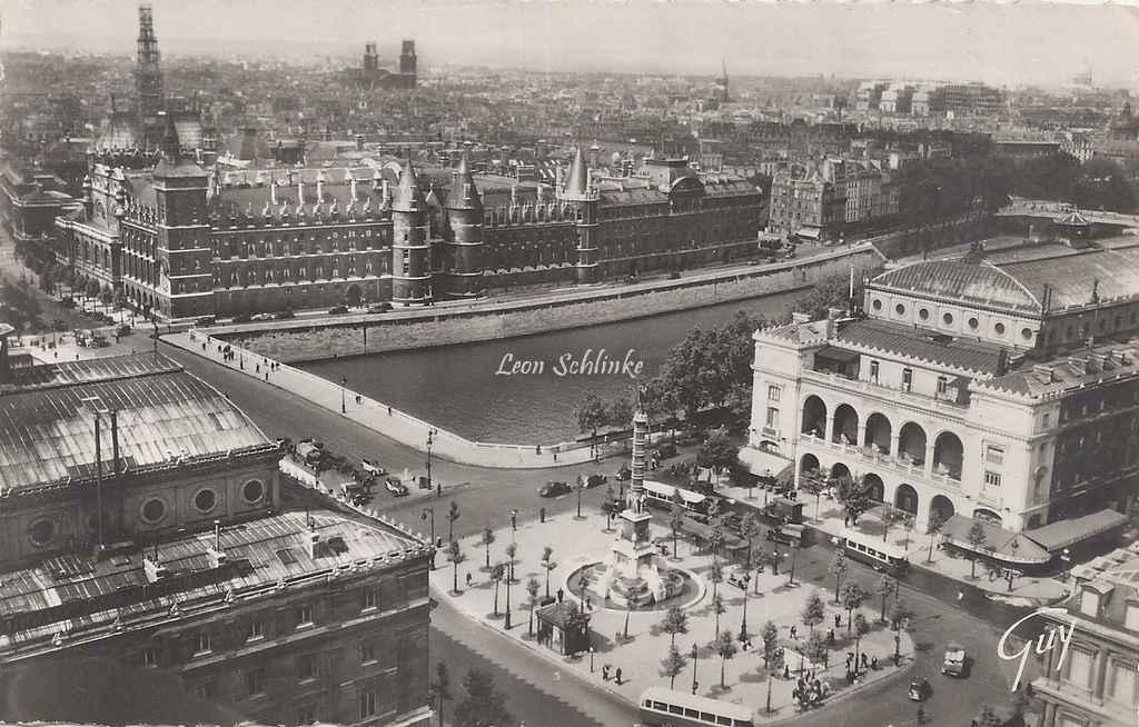 Guy 3.044 - Paris et ses Merveilles - Panorama Place du Châtelet