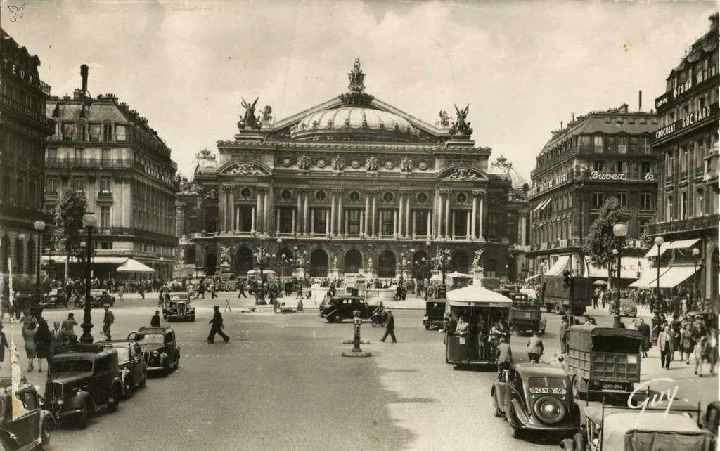 Guy 3014 - Paris - Place et Théâtre de l'Opéra
