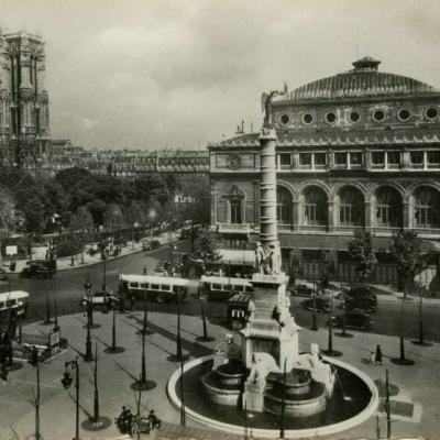 Guy 343 - Paris et ses Merveilles - Place du Chatelet et tour St-Jacques