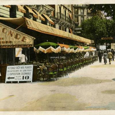 Guy 38 - PARIS-MONTPARNASSE - La Rotonde