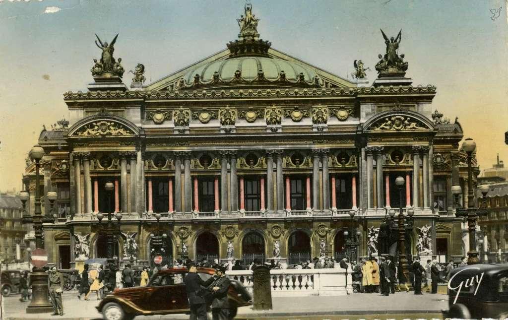 Guy 4.013 - PARIS - Théâtre de l'Opéra (1862-1875)