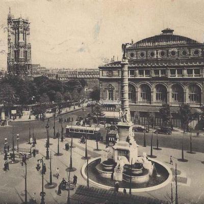 Guy 516 - Paris et ses Merveilles - Place du Châtelet