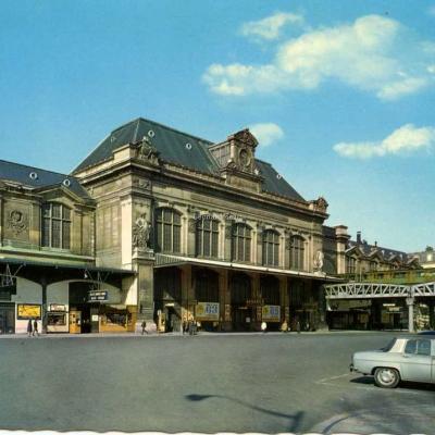 Guy 5289 - PARIS ET SES MERVEILLES - La Gare d'Austerlitz · la cour de départ