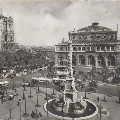 Guy 743 - Paris et ses Merveilles - Place du châtelet